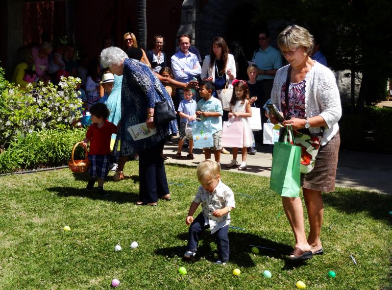4-16-17 Cindy Davis with Grandchild