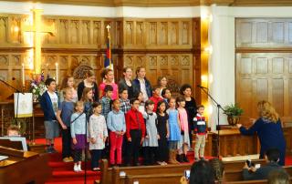 5-7-17 Clarion Kids Community Choir