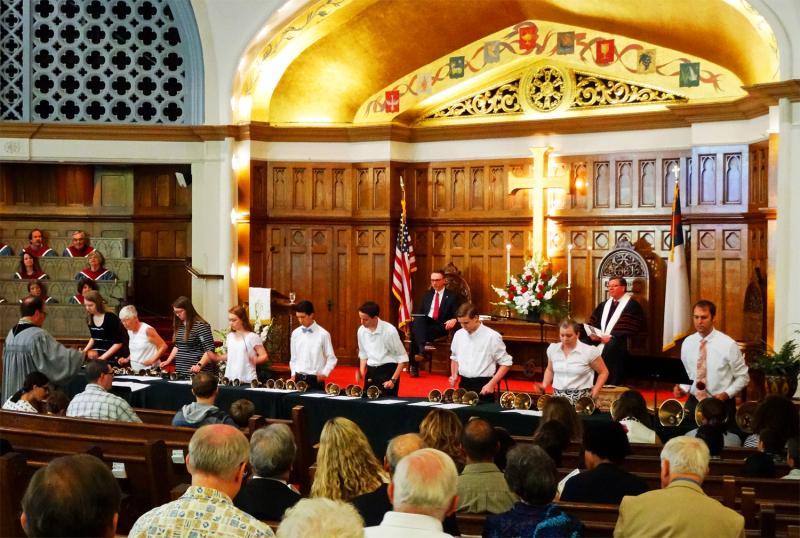 5-14-17  That Tune 4 Him bell choir