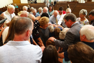 8-27-17 Praying for Pat Gilbreath