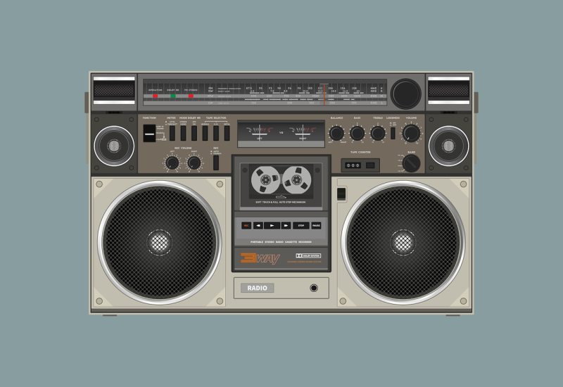 Radio-cassette-3634616_1280